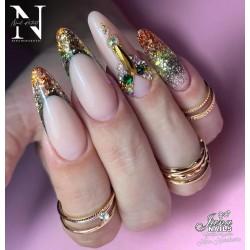 ꧁𝗣•𝗘•𝗥•𝗙•𝗘•𝗖•𝗧•𝗜•𝗢•𝗡꧂ 💎𝐁𝐲 @ninnovakovic💎•AcryGel Light Nude & •Mix'n Match glitters👉Όλα τα προϊόντα Jana Nails θα τα βρείτε εδώ: www.jananails.gr