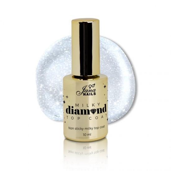 Milky Diamond Top Coat 10ml