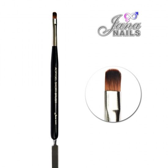 Acrygel Short Brush/Spatula