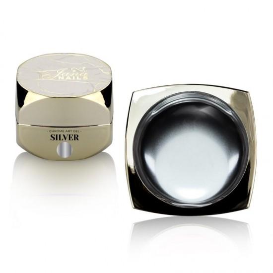 Chrome Art Gel Silver 5ml