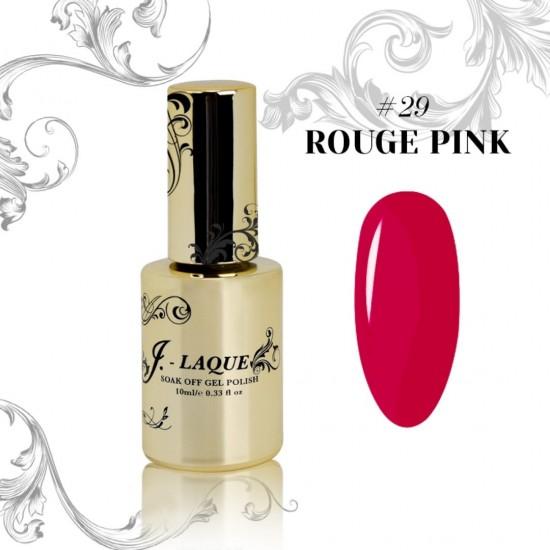 J-Laque #29 - Rouge Pink 10ml