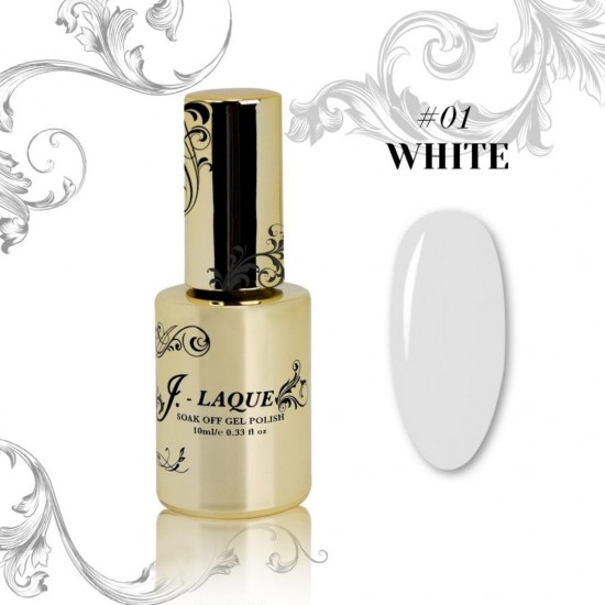 J-Laque #01 - White 10ml