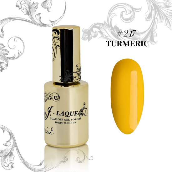 J-Laque #217 - Turmeric 10ml