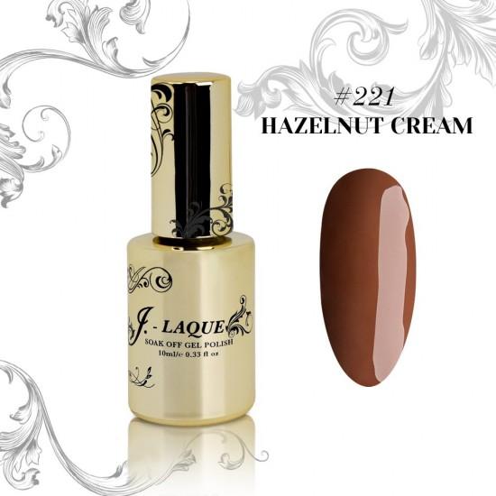 J-Laque #221 - Hazelnut Cream 10ml