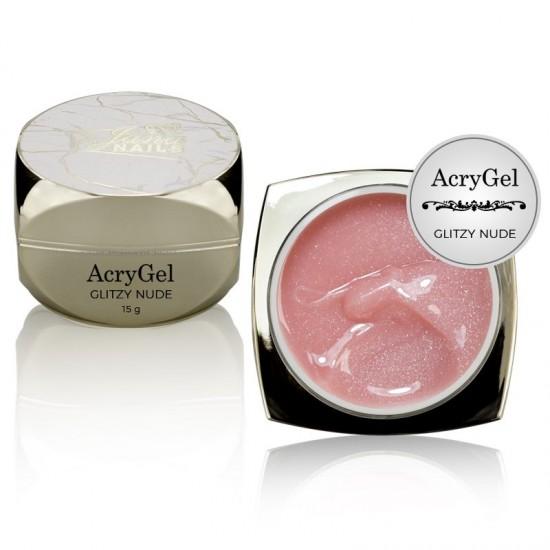 AcryGel Glitzy Nude 15gr